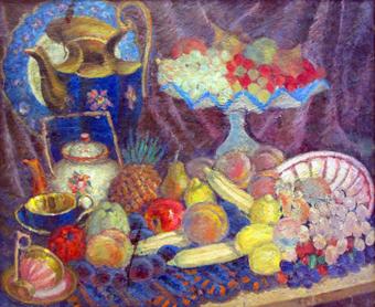 Владимир Эйферт Натюрморт с синим кувшином 1947-1950