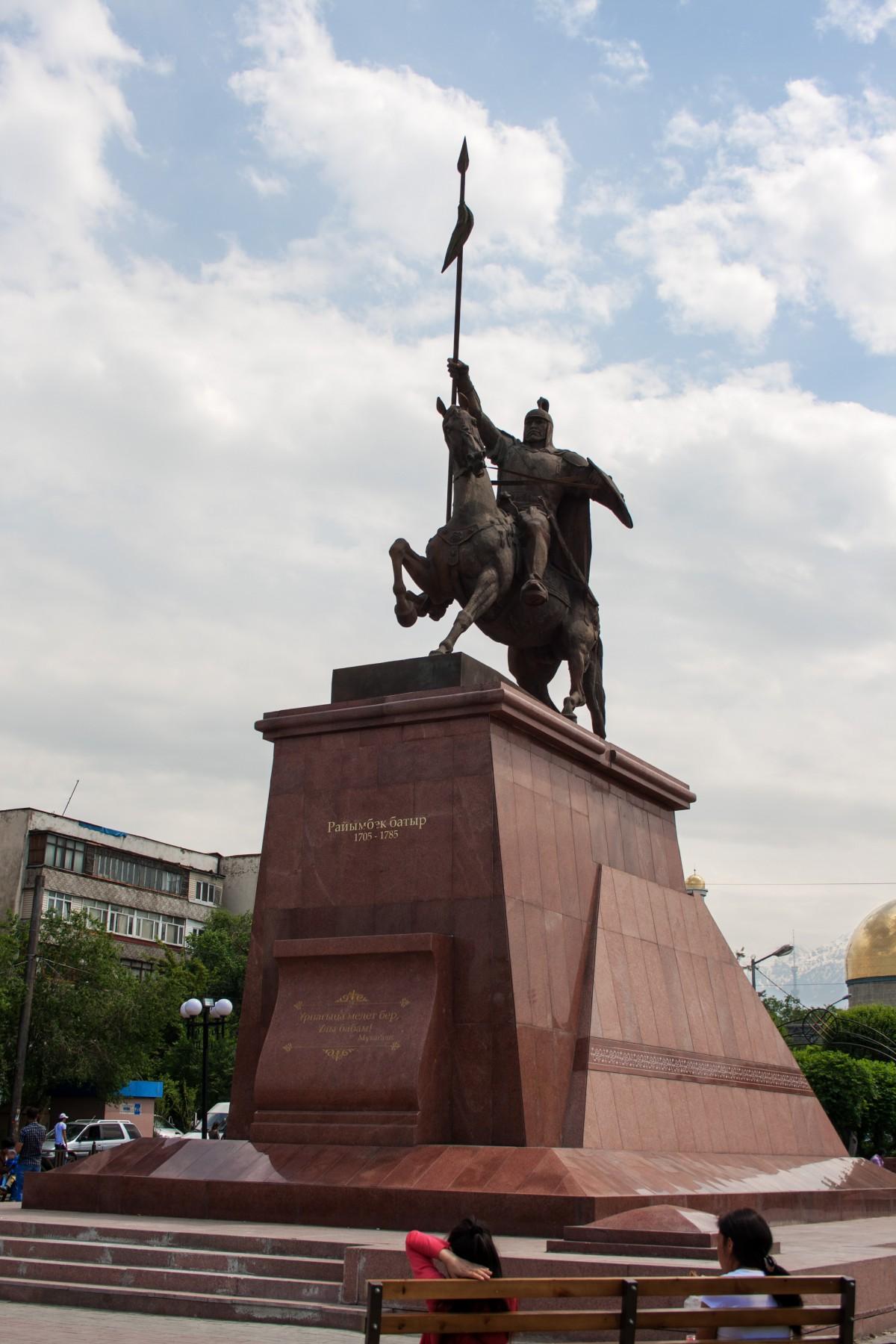 Rayimbek_monument_almaty