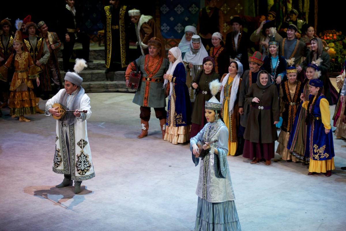 Бурабай аспаны астындағы «Біржан-Сара» операсы