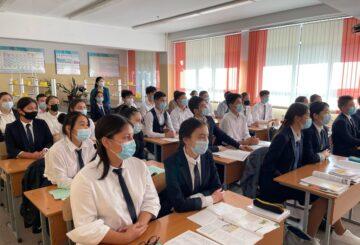 Тәуелсіздік сабағына 50000 оқушы катысты